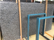 Matrix Black Granite Slabs & Walling Flooring Tile