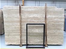 Mystic Alpina Beige Travertine Slabs & Floor Tiles