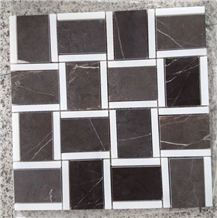 Pietra Grey Graphito Marble Wall Mosaic Tile Price