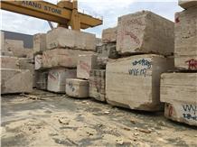 Quarry Bucak Classic Beige Travertine Blocks Price