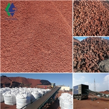Quarry Price Red Lava Rock Landscaping Stone