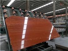 Rose River Red Travertine Slabs & Wall Floor Tiles