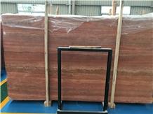 Soltan Red Travertine Slabs & Wall Flooring Tiles