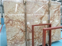 Whosale Cheap Sky Gold Marble Slabs Price