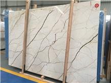 Whosale Turkey Luna Pearl Marble Slabs Price