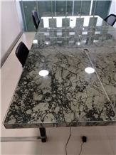Noble Grey Marble Table