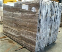 Silver Travertine Slabs Polished