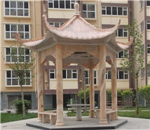 Chinese Style Marble Garden Pavilion