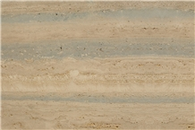 Roman Travertine Silver Marthe