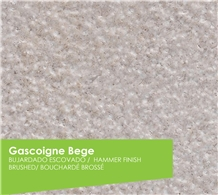 Gascogne Beige Limestone Bush Hammered