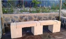 Arenisca Crema Ambar Rustic Benches