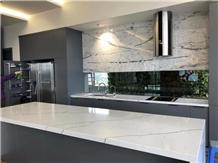Mable Look Quartz Kitchen Countertop