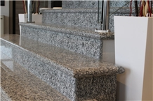 Serizzo Formazza Stair Steps and Risers