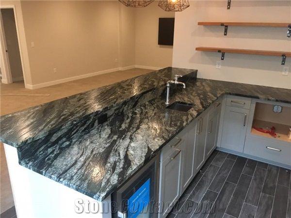 Amadeus Leathered Granite Countertop