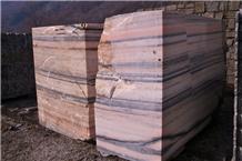 Rosa Candoglia Marble Blocks
