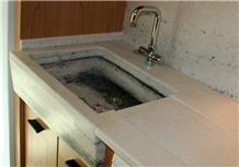 Rosa Valtoce Marble Kitchen Countertop,Farm Sink