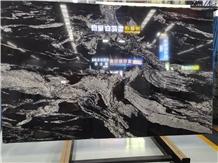 Magma Black Granite Slab