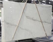 Mistral White Marble Slabs