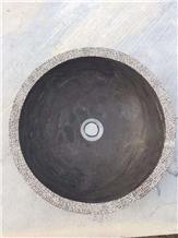 Bluestone Sink,Basin in Polished Bluestone,L828