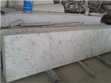 Andromeda White Kitchen Countertops Worktops