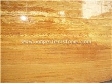 Golden Travertine,Italy Gold Travertine