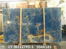 Nature Blue Onyx Backlit Slabs,Flooring,Agate Mosa