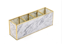 Natural Marble Jewelry Boxes White Marble