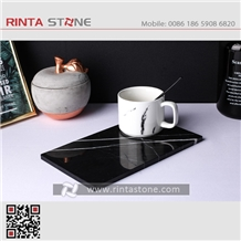 Marble Granite Stone Cup Mat Doily Coaster