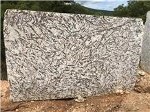 Feldspato Bianco Granite Blocks from Brazil