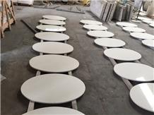 London Sky Quartz Table Top Design