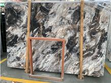 Dream Black Marble Slab Tiles