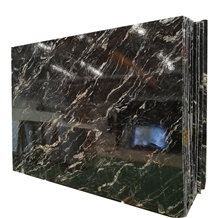 Black Cosmic Granite for Countertop and Big Slabs