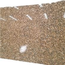 Brazil Yellow Giallo Fiorito Granite Slabs