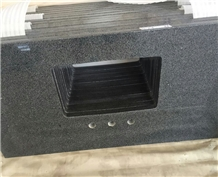 China G654 Black Granite Kitchen Countertop