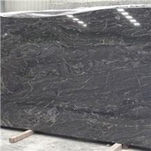 Indian Ganges Black Granite Slab and Floor Tiles