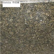 Verde Ubatuba Green Granite Slabs and Tiles