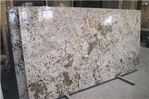 Gold Flower Granite Kitchen Island Top Wholesale Slabs & Tiles, Versace Granite Slabs & Tiles