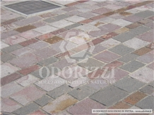 Porphyry Paving Slabs and Tiles Natural Surface