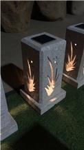 Solar Granite Garden Lanterns