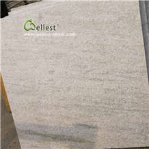 Elegant White Quartzite Pool Deck Stone Tile