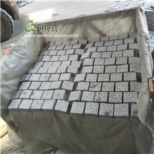 G603 Light Grey Granie Cobblestone Paving Mats