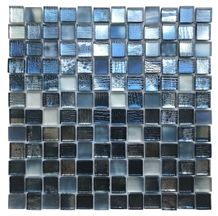Fargo Marble Polished ,Metal Glass Mosaic Tile