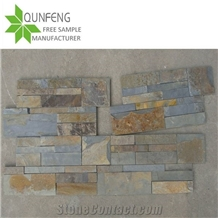 Split Surface Rusty Slate Culture Stone Wall Tile