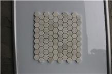 Greece Dolit White Marble Brick Marble Mosaics