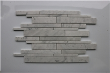 Italy Bianco Carrara Marble Brick Marble Mosaics