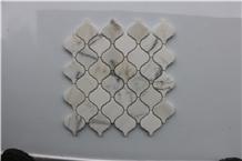 Italy Calacatta Gold Latern Shape Marble Mosaics