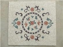 Marble Mosaics Arts,Luxury Medallionsswimming Pool