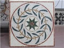 Marble Mosaics Artsluxury Medallions Imperial Gold