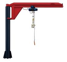 Single Arm Jib Crane for Stone Machinery