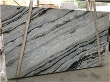 Blue Danube Marble Slabs and Tiles Bookmatched